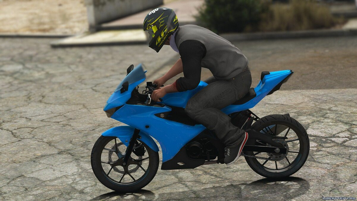 Мотоцикл 2017 Suzuki GSX-R125/150 [Add-On | Tuning] V0.1 для GTA 5