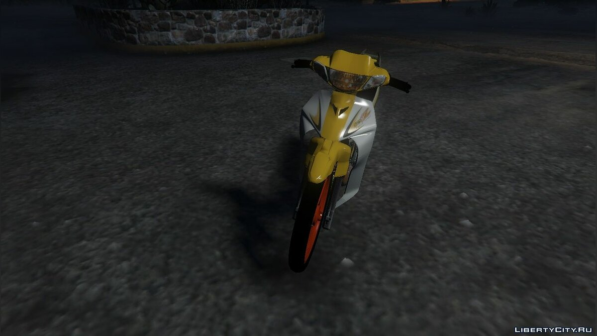Мотоцикл Yamaha 125ZR [BETA.VER] 1.0 для GTA 5