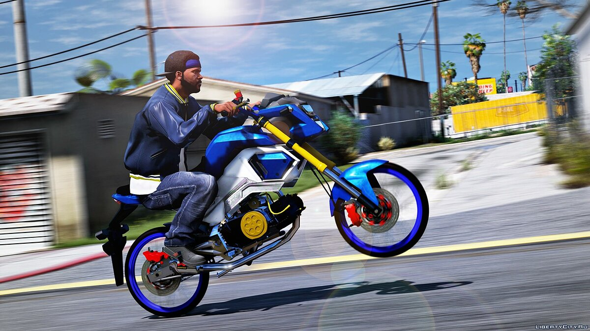 Мотоцикл Honda Msx 125SF/Grom 125SF [ Replace | 1.0 для GTA 5