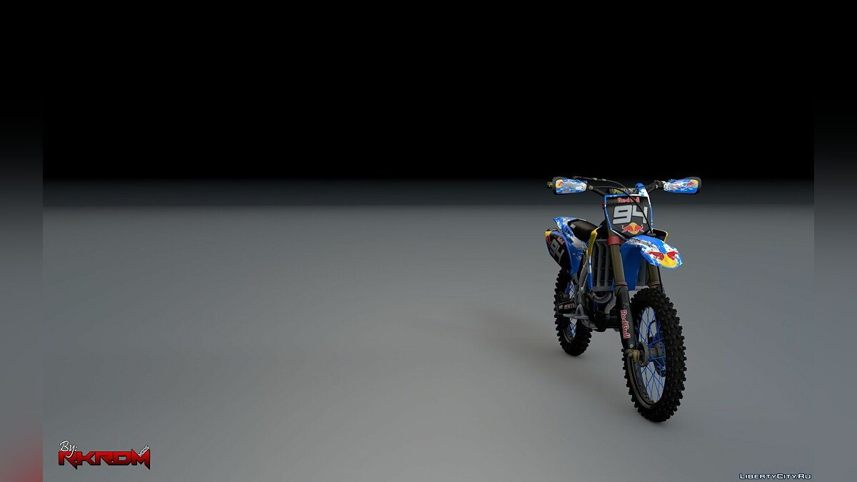 Yamaha YZ250F - RedBull Graphics [Add-On] для GTA 5 - скриншот #2