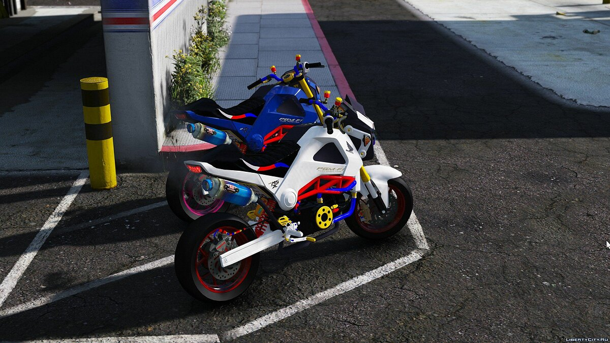 Мотоцикл Honda MSX/GROM [Modify] [Replace] 1.0 для GTA 5