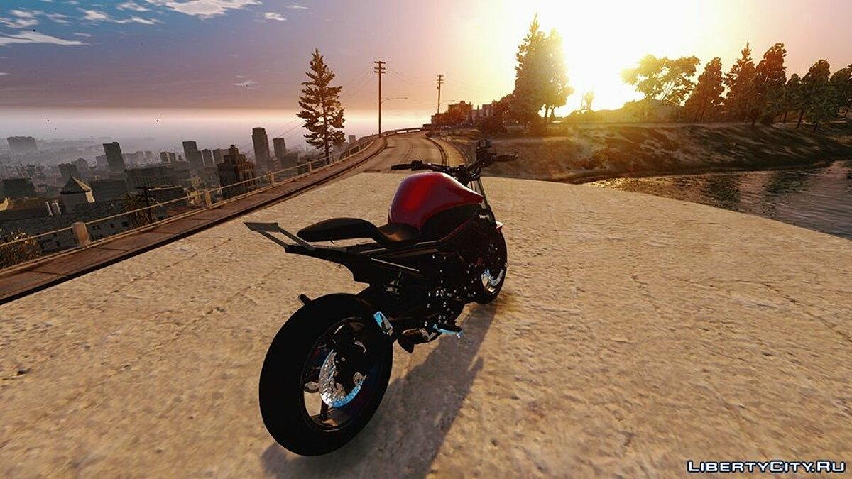 ��отоцикл 2013 Yamaha XJ6 Depenada Edit [Replace] 1.0 для GTA 5