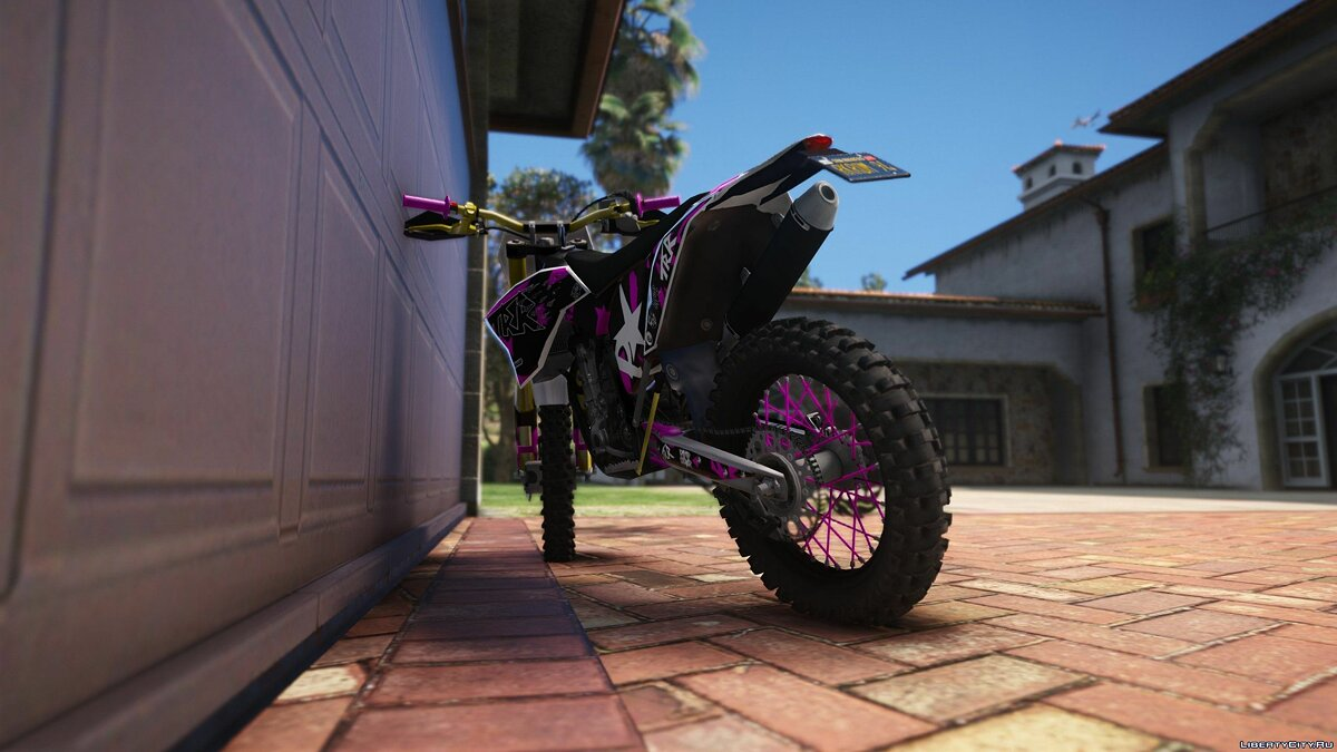2010 KTM EXC 530 - TRR Graphics [Add-On] для GTA 5 - скриншот #5