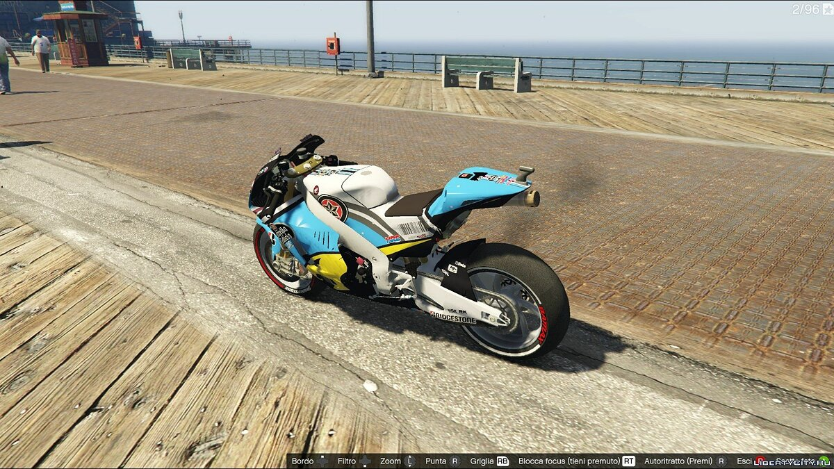 Honda Marc Vds #Scott Redding для GTA 5 - Картинка #2