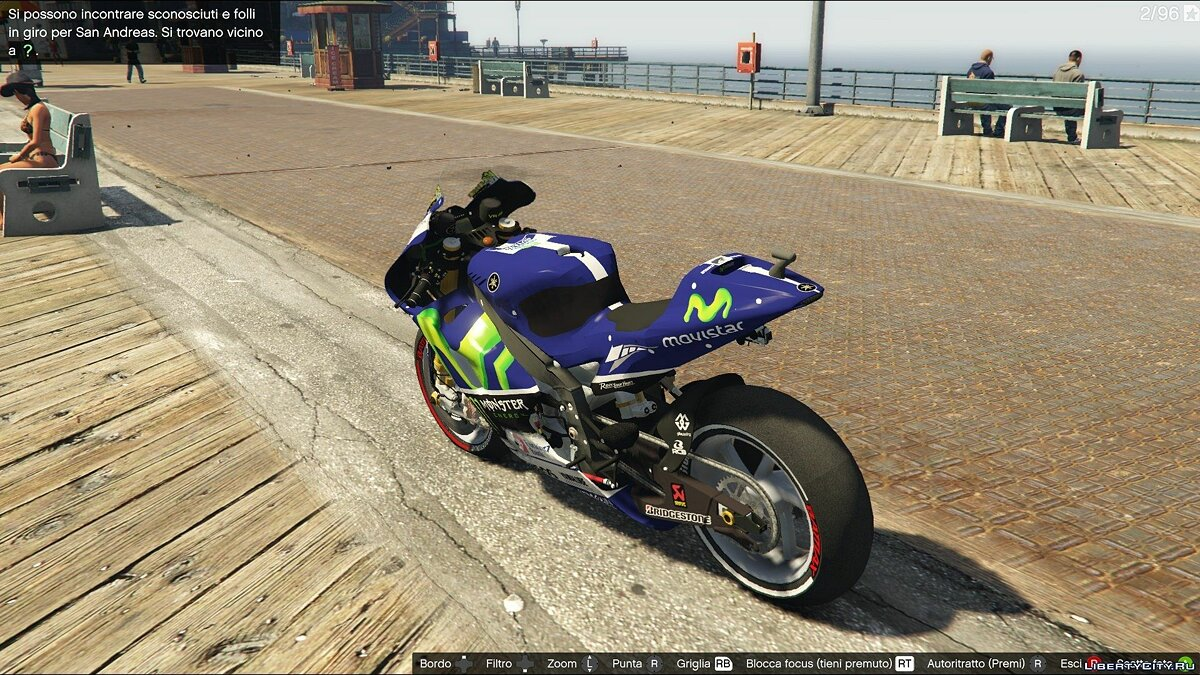 Yamaha YZR M1 [Add-On] для GTA 5