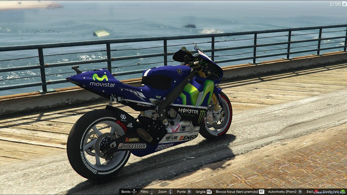 Yamaha YZR M1 [Add-On] для GTA 5 - скриншот #2