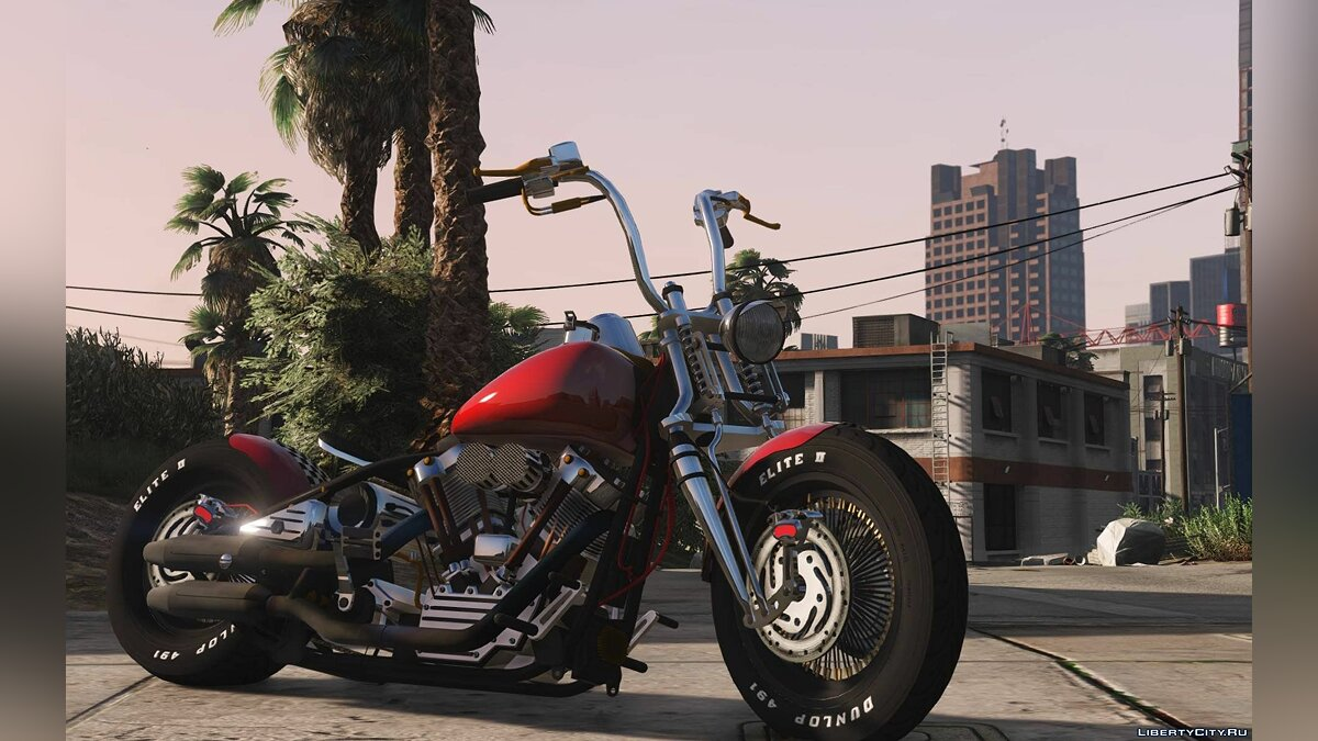 Harley-Davidson Knucklehead [Animated | Replace] 2.0 для GTA 5