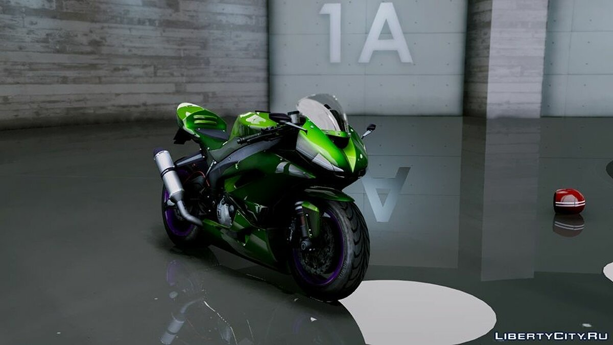 Kawasaki Ninja ZxR Modified v.1 для GTA 5 - скриншот #2