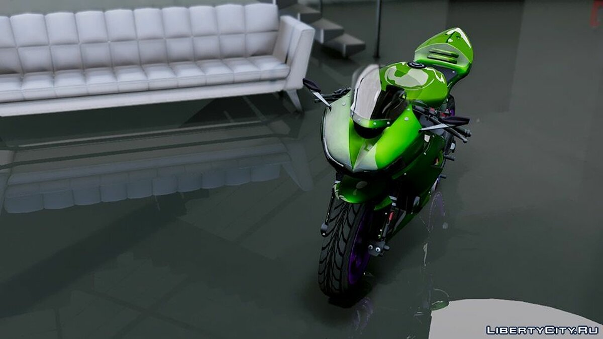 Kawasaki Ninja ZxR Modified v.1 для GTA 5 - скриншот #4