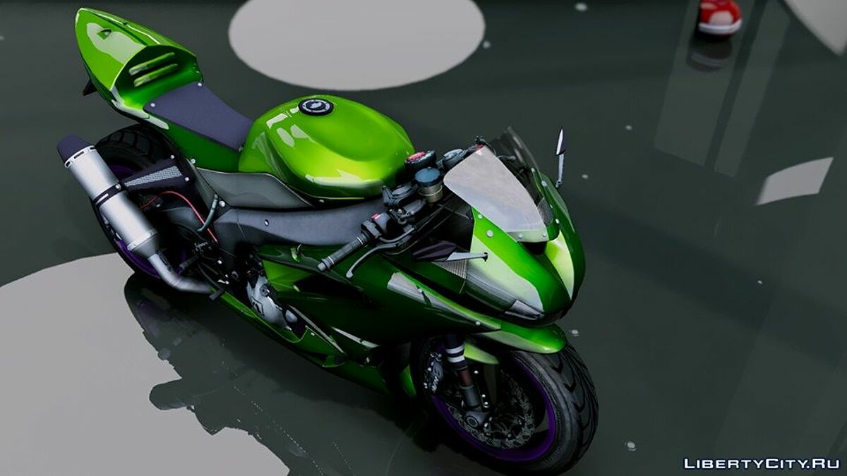 Kawasaki Ninja ZxR Modified v.1 для GTA 5 - скриншот #5