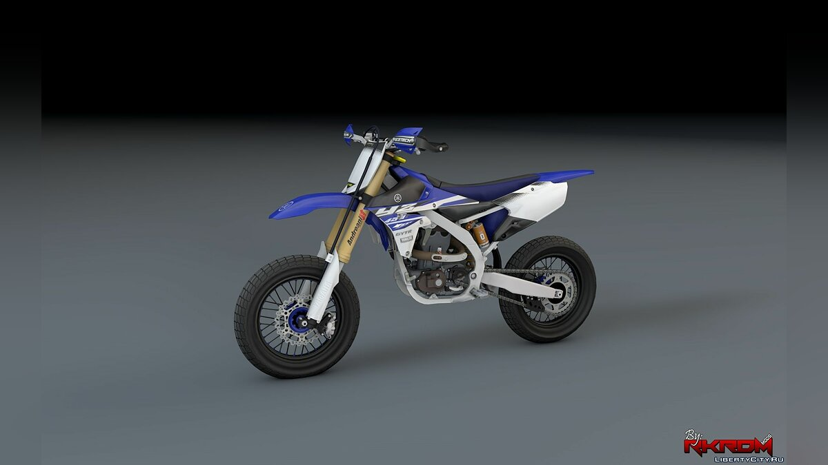 Yamaha YZ450F - Supermoto [Add-On] для GTA 5