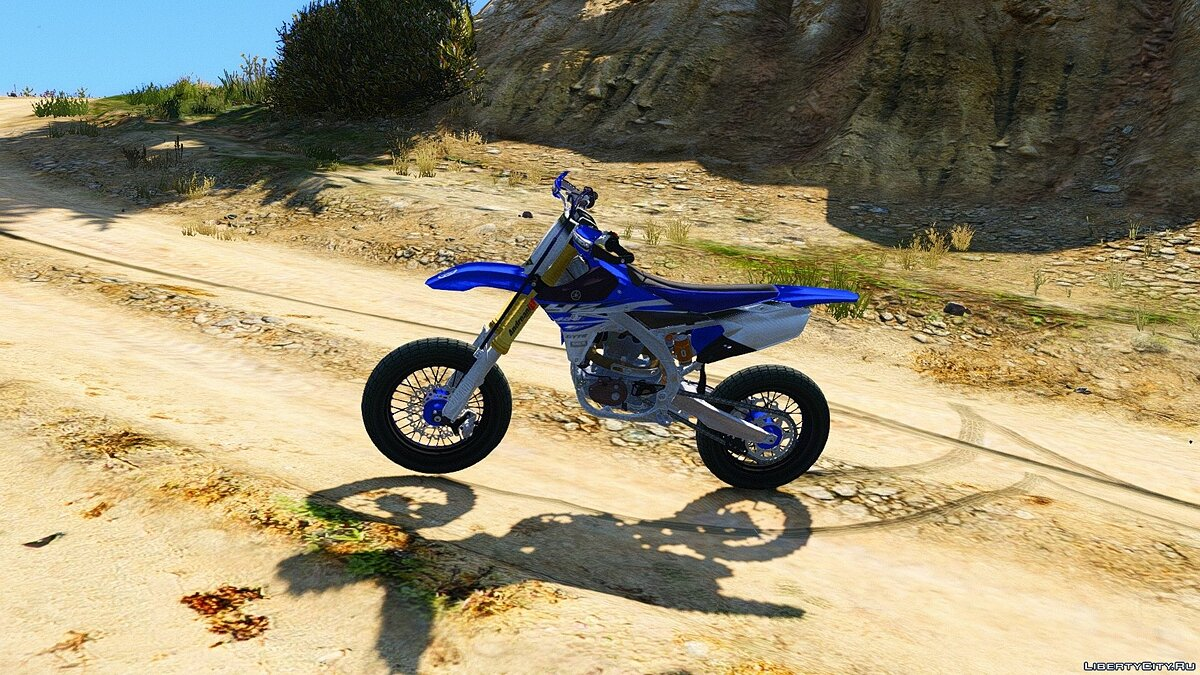 Yamaha YZ450F - Supermoto [Add-On] для GTA 5 - скриншот #3