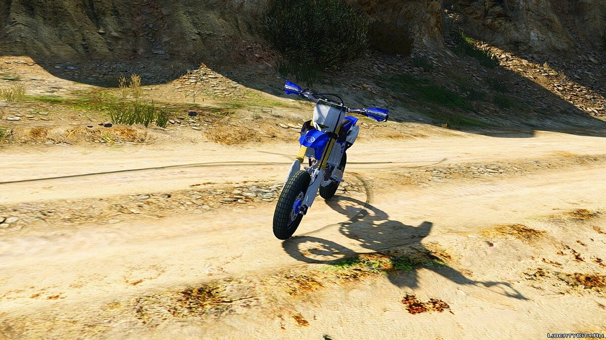 Yamaha YZ450F - Supermoto [Add-On] для GTA 5 - скриншот #4
