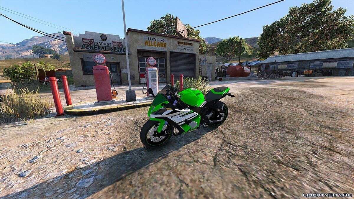 2015 Kawasaki Ninja ZX-10R [Add-On] для GTA 5 - скриншот #5