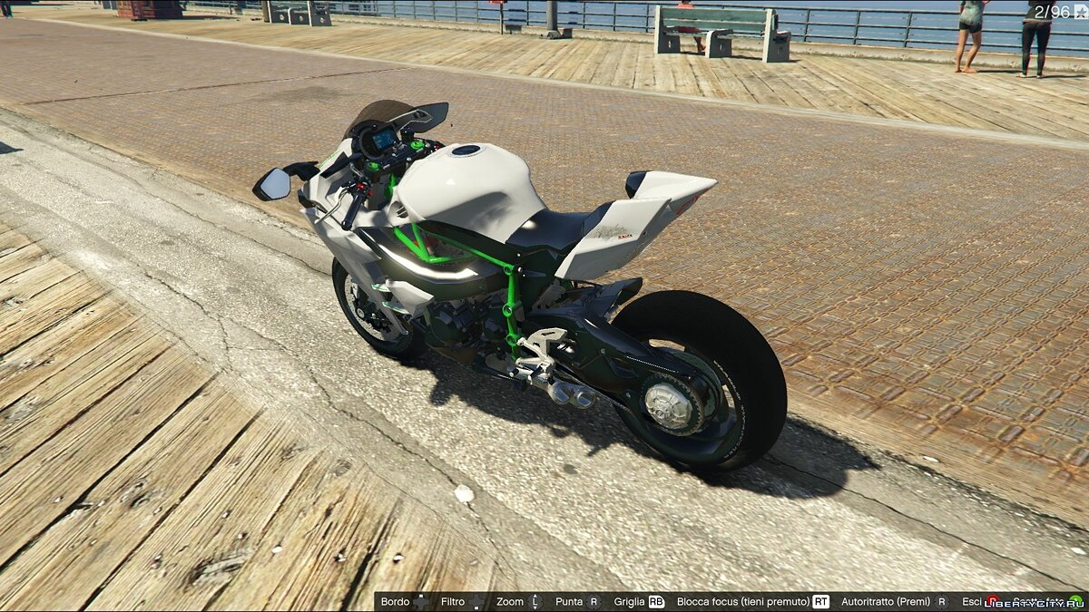 Kawasaki Ninja H2R [Add-On] v2.5 для GTA 5