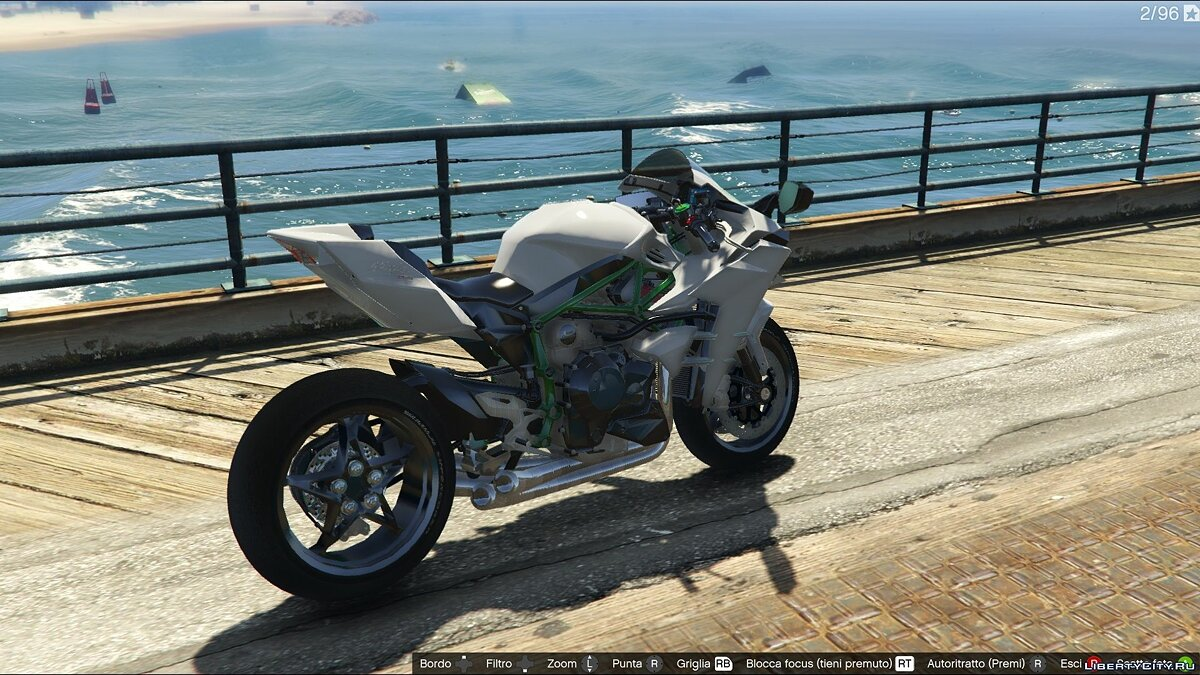 Kawasaki Ninja H2R [Add-On] v2.5 для GTA 5 - скриншот #2