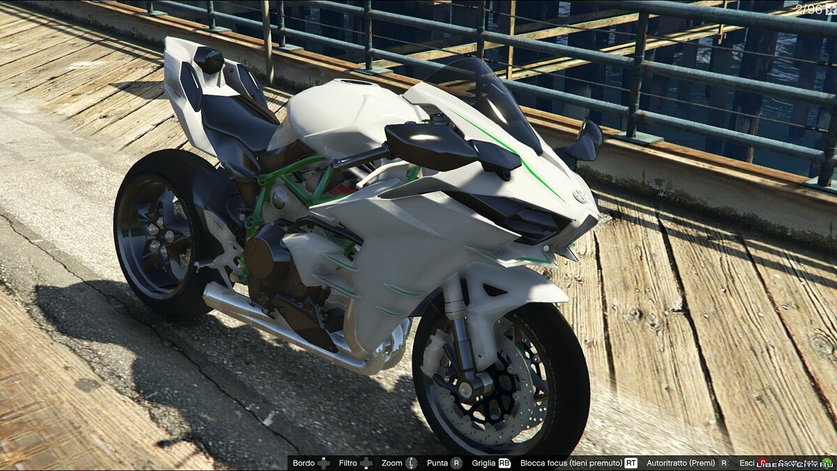 Kawasaki Ninja H2R [Add-On] v2.5 для GTA 5 - скриншот #3