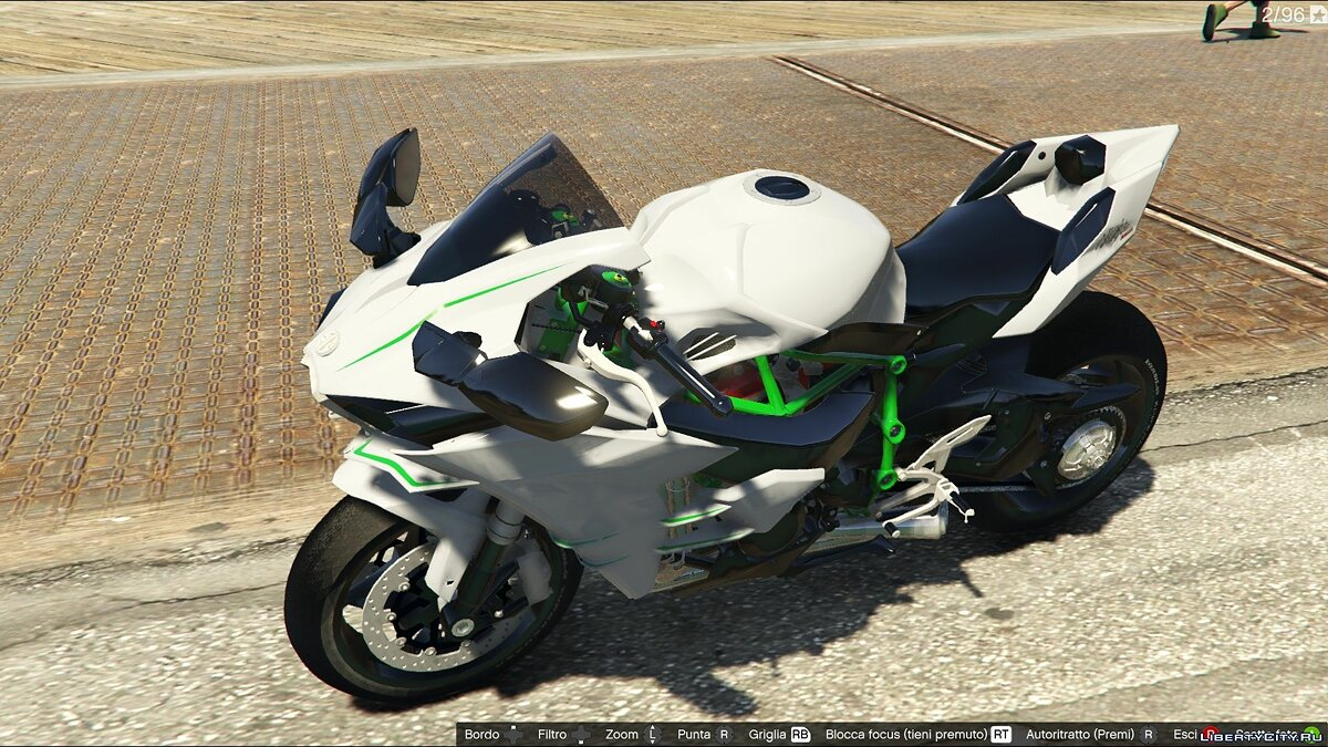 Kawasaki Ninja H2R [Add-On] v2.5 для GTA 5 - скриншот #5