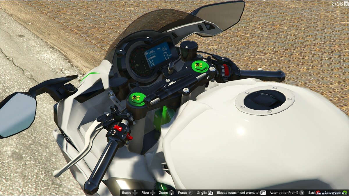 Kawasaki Ninja H2R [Add-On] v2.5 для GTA 5 - скриншот #6