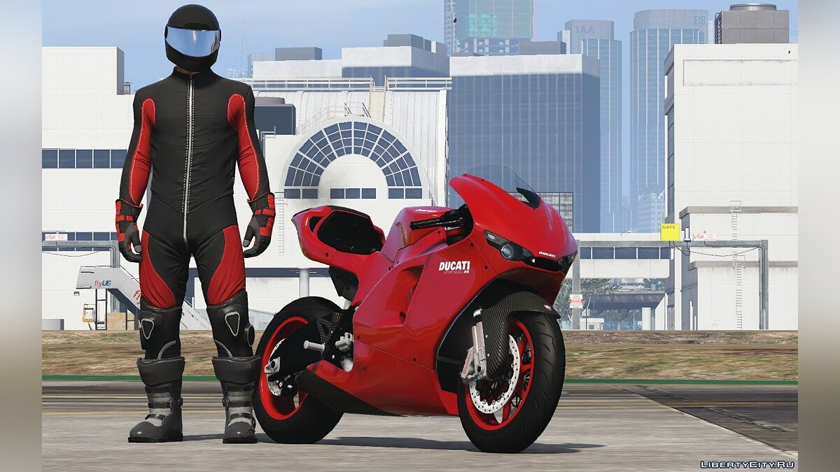 Ducati Desmosedici RR '08 [Add-On | Tuning] 1.1 для GTA 5 - скриншот #2