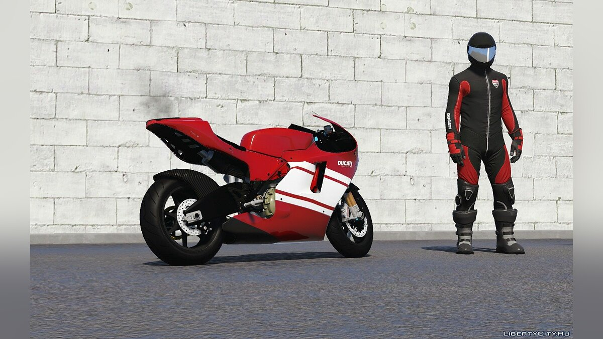Ducati Desmosedici RR '08 [Add-On | Tuning] 1.1 для GTA 5 - скриншот #3