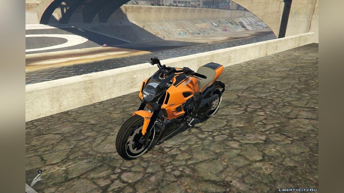 Ducati Diavel Carbon 11 1.1 для GTA 5