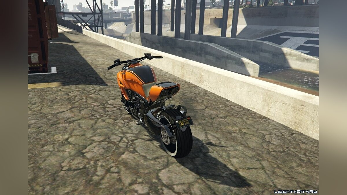 Ducati Diavel Carbon 11 1.1 для GTA 5 - скриншот #2
