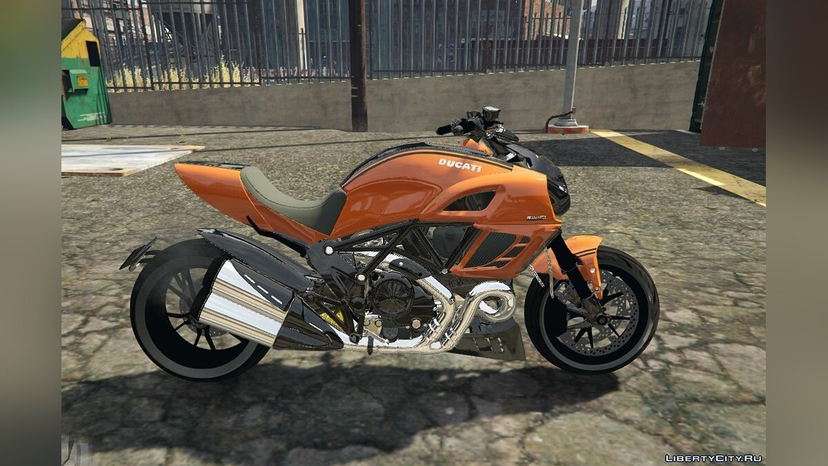Ducati Diavel Carbon 11 1.1 для GTA 5 - скриншот #3