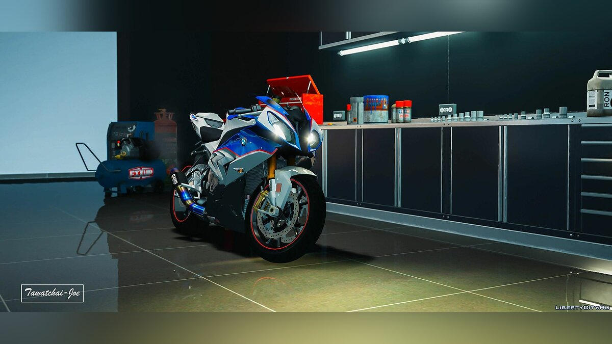 Мотоцикл BMW S1000RR 2016-2017 [Add-On | Tuning | Template] 2.0 для GTA 5