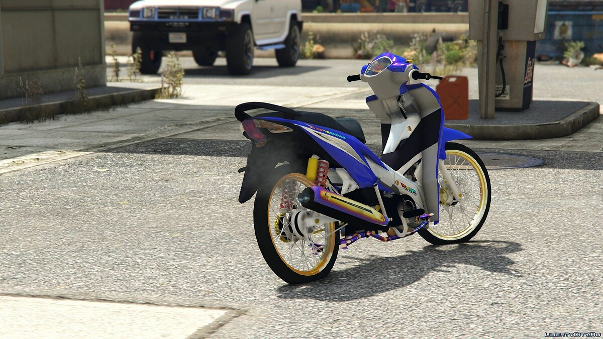 Мотоцикл Honda Wave110i [Add-On / Replace] 3.0 для GTA 5