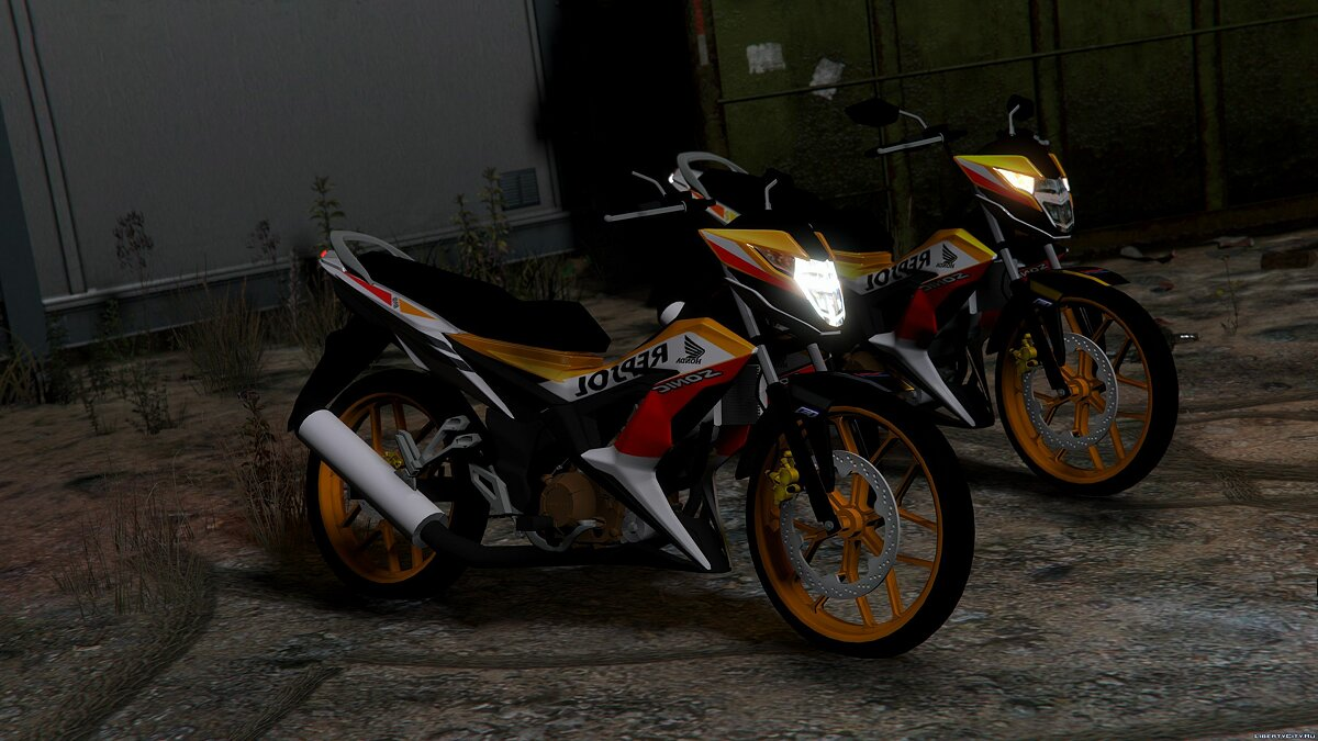 Мотоцикл Honda Sonic 150R [Replace] 1.0 для GTA 5