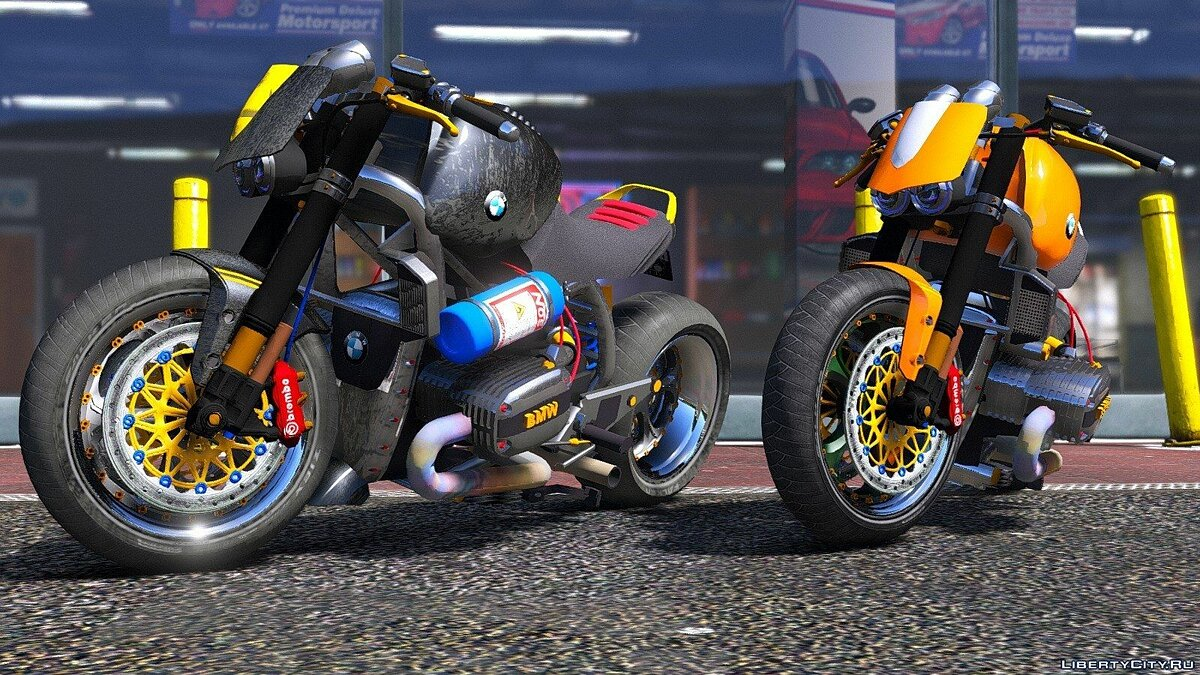 BMW R 1100R Naked Custom 1.0 для GTA 5 - скриншот #2