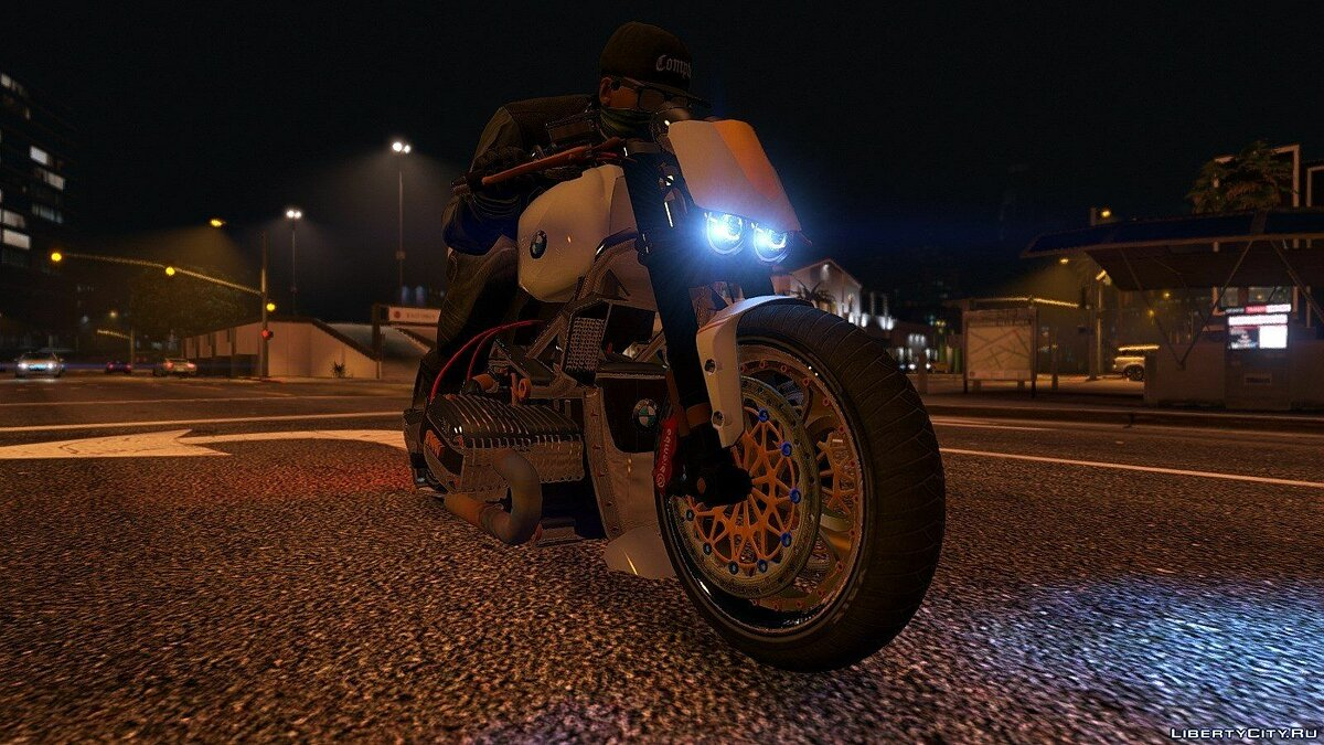 BMW R 1100R Naked Custom 1.0 для GTA 5 - скриншот #3