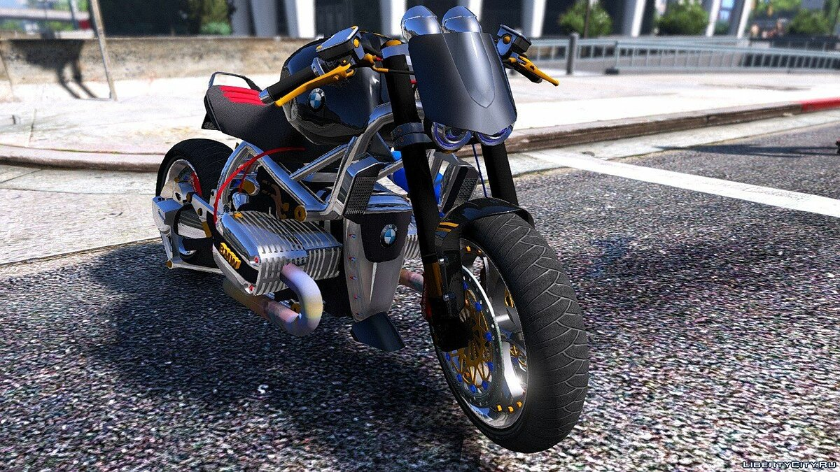 BMW R 1100R Naked Custom 1.0 для GTA 5 - скриншот #6