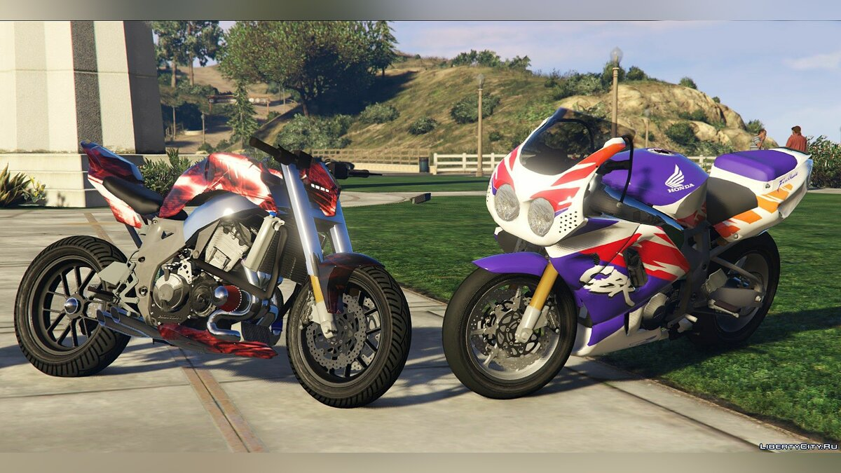 Мотоцикл Honda 900 CBR 1992 / StreetFighter [Add-On / Replace | Tuning] 1.1 для GTA 5