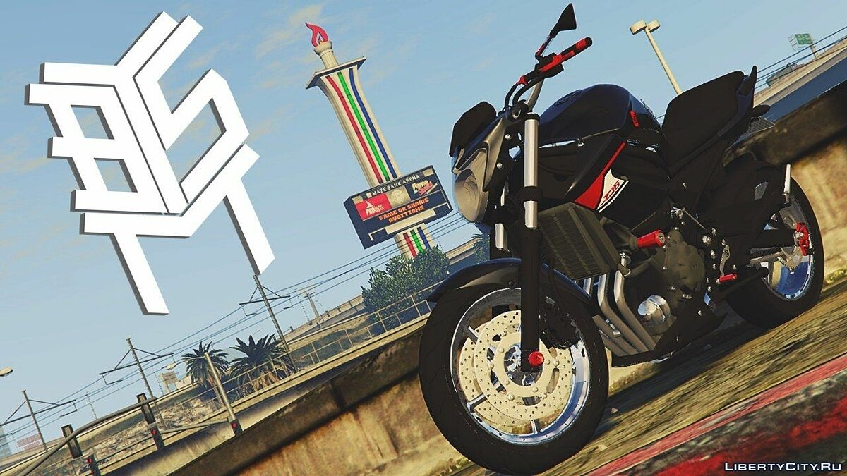 Мотоцикл Yamaha XJ6 Blue Racing для GTA 5