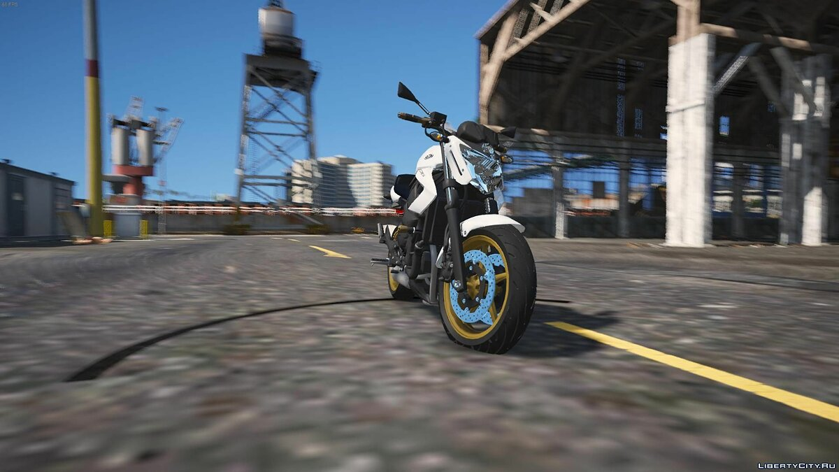 Yamaha XJ6 2011 [REPLACE | TUNING] V1 для GTA 5