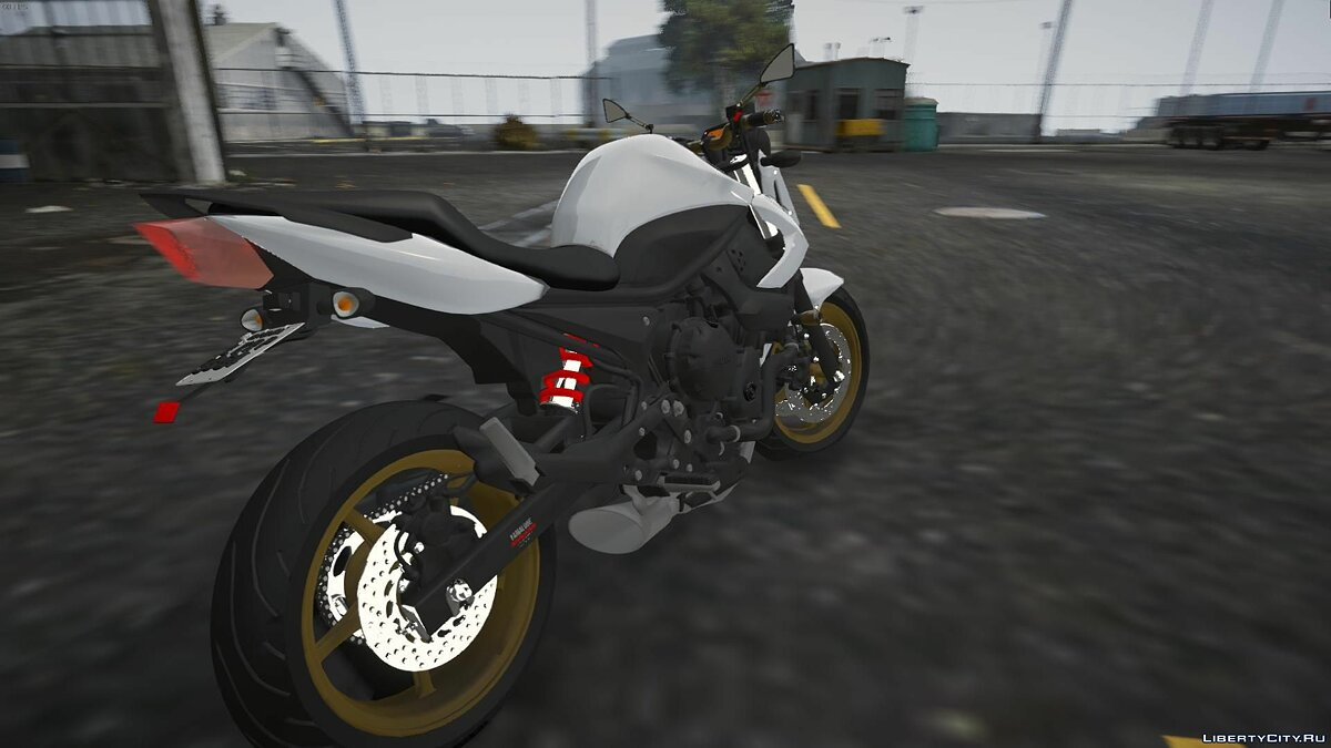 Yamaha XJ6 2011 [REPLACE | TUNING] V1 для GTA 5 - скриншот #5