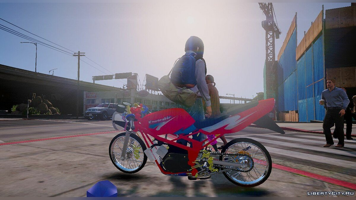 ��отоцикл Kawasaki Victor 150 (modify) [Replace] 1.0 для GTA 5