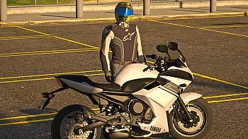 Мотоцикл YAMAHA XJ6F 2014 DIVERSION [DIGITAL DIALS/ADD ON] для GTA 5