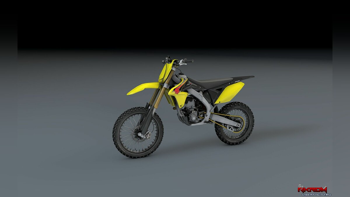2015 Suzuki RMZ 250 [Add-On] для GTA 5
