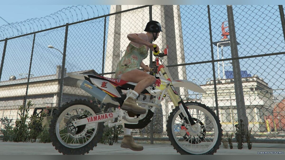 Yamaha YZ450f [Replace] 1 для GTA 5