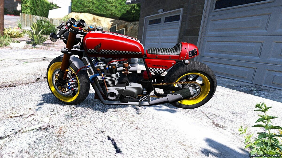 Honda CB750 Cafe Racer [Animated] 1.0 для GTA 5