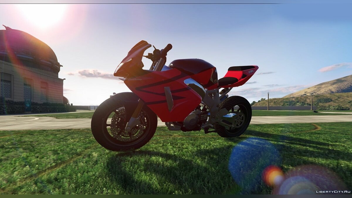 Мотоцикл Honda 900 CBR 1992 / StreetFighter [Tunable] 1.0 для GTA 5