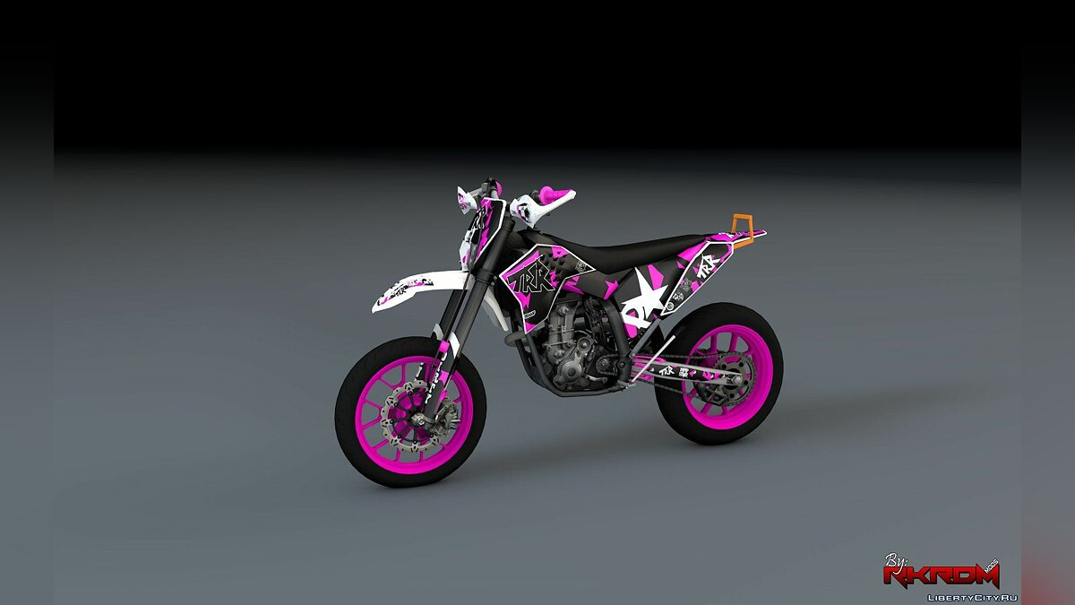 KTM EXC 530 Supermoto - TRR Graphics [Add-On] для GTA 5