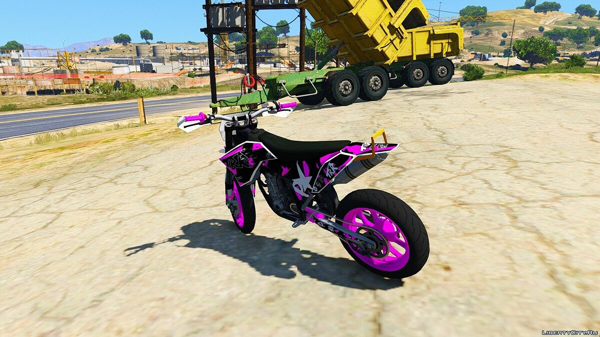 KTM EXC 530 Supermoto - TRR Graphics [Add-On] для GTA 5 - скриншот #4