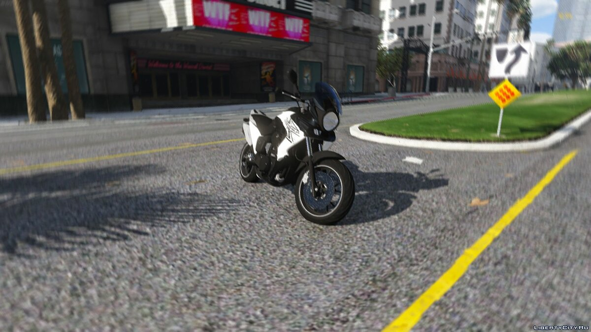��отоцикл HONDA - XL 700V TRANSALP BETA для GTA 5