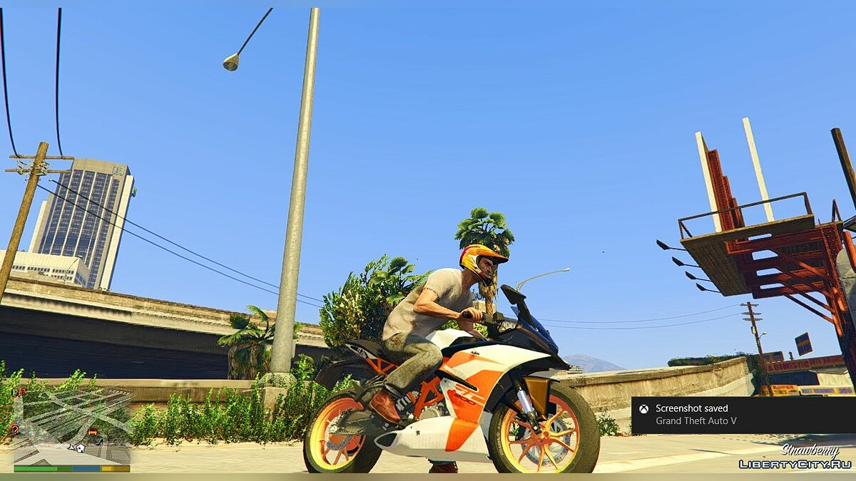 KTM RC 200 2017 [Replace] для GTA 5