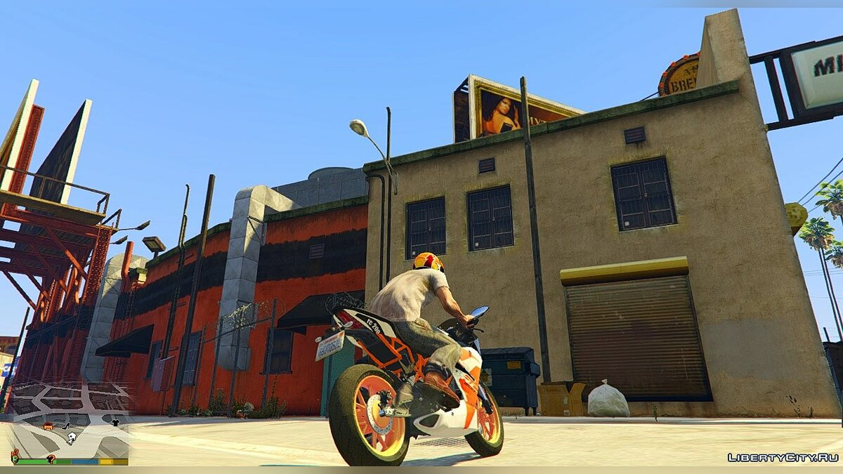 KTM RC 200 2017 [Replace] для GTA 5 - скриншот #2