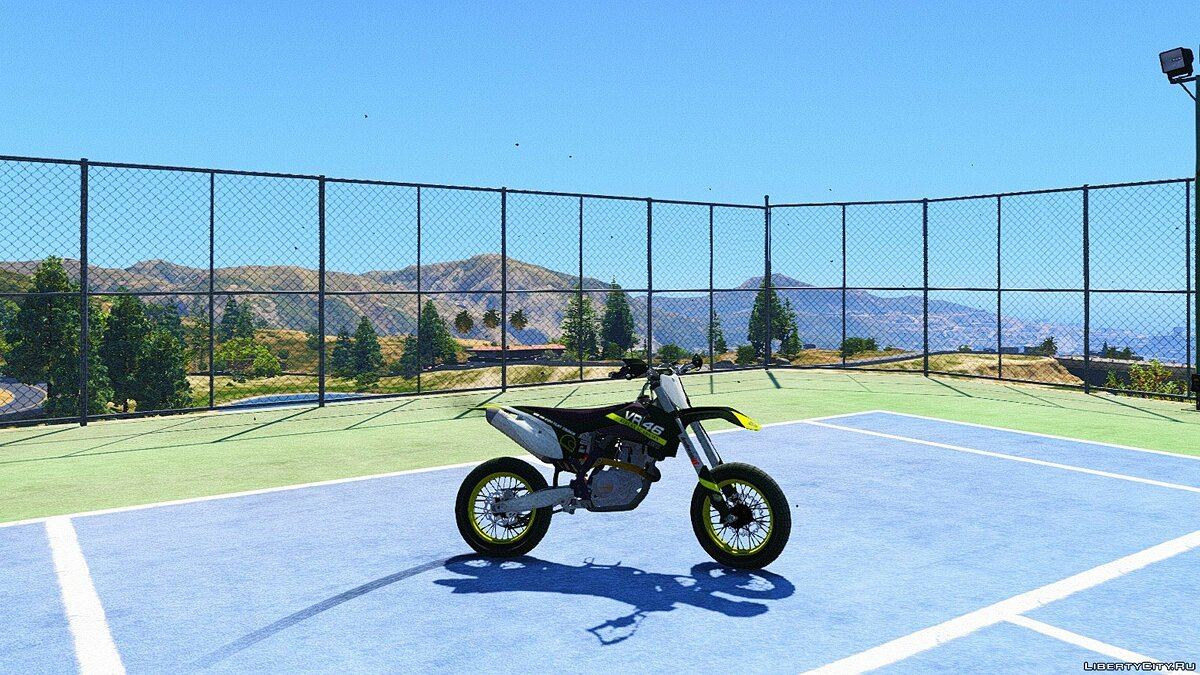 KTM 450 SX-F - Supermoto with Liveries [Add-On] для GTA 5